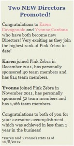 Pink Zebra Home Announces 2 New Directors