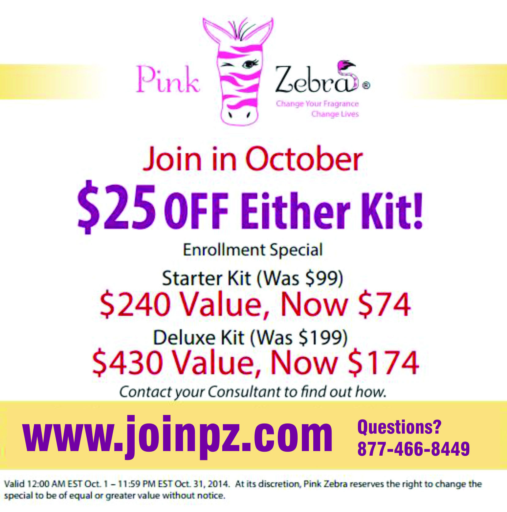 Join Pink Zebra Become a Pink Zebra Consultant