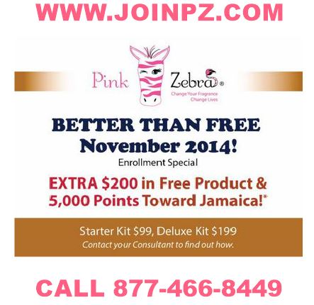 Join Pink Zebra Today