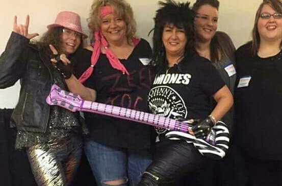 Having Some Rocking Fun at the Pink Zebra Spring Rally