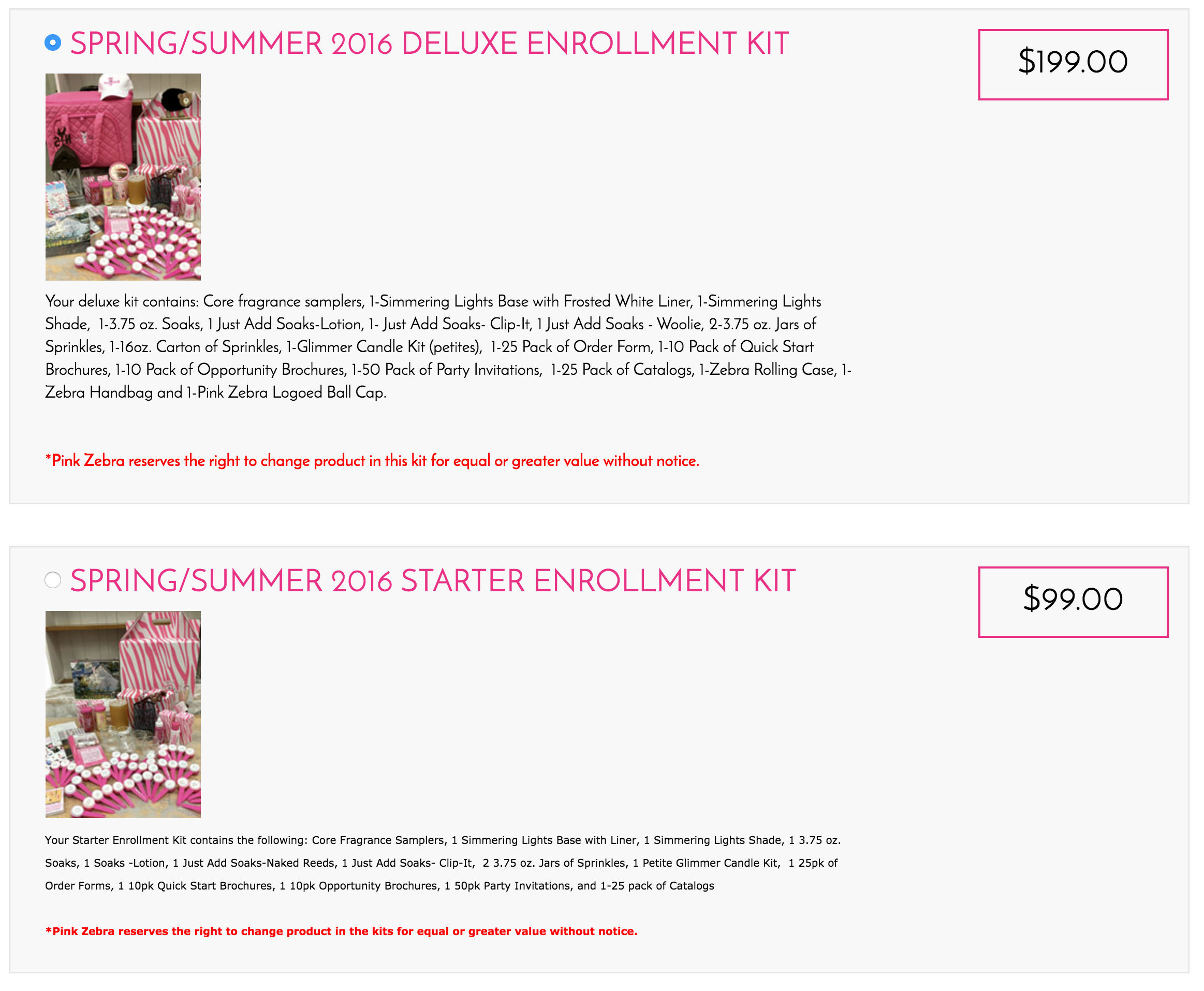 Pink Zebra Kit Rebate / Refund -