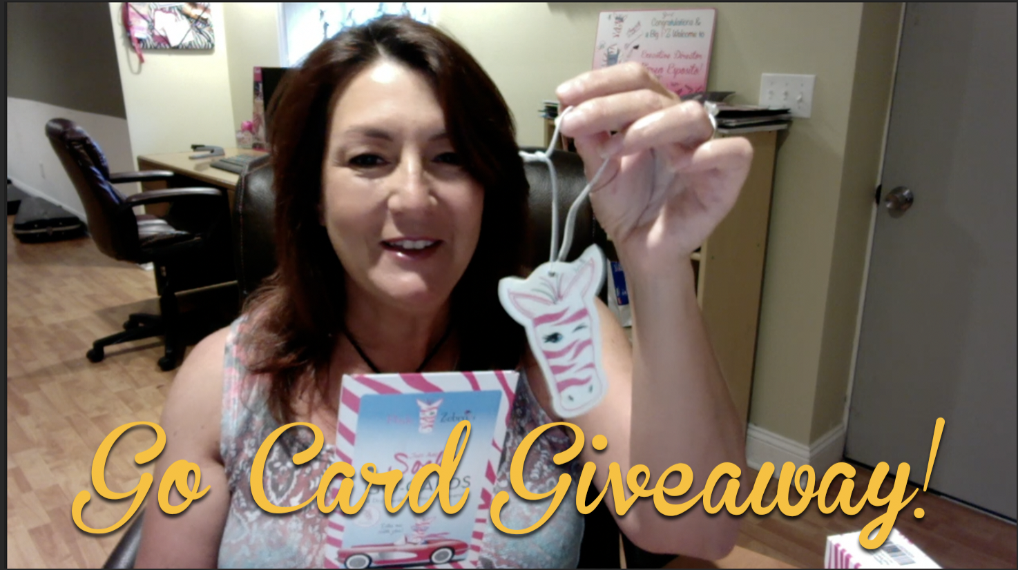 Enter here for your FREE Pink Zebra Go Card